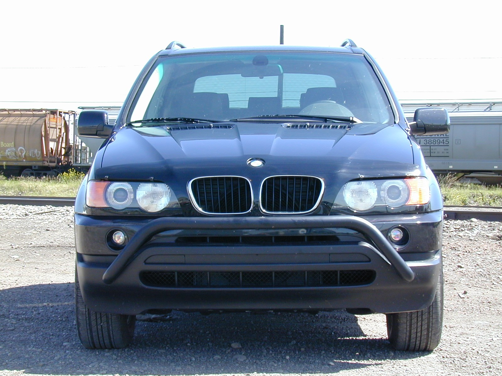 bmw x5 2004 2006 hood protectors. Black Bedroom Furniture Sets. Home Design Ideas