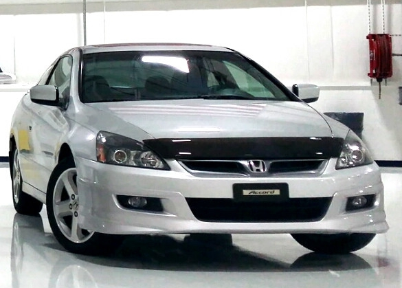honda accord 2 door 2003 2007 hood protectors. Black Bedroom Furniture Sets. Home Design Ideas