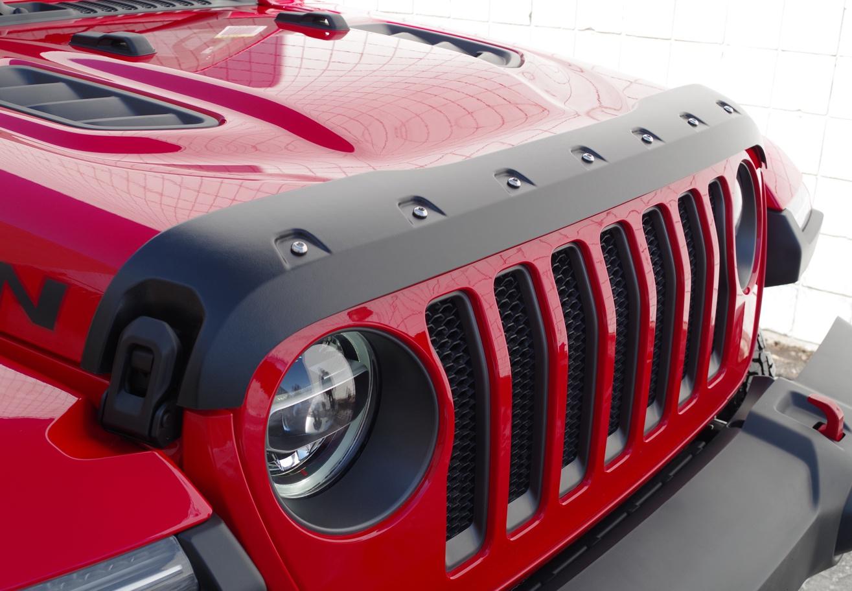 Jeep Wrangler Jl 2018 Up Tough Guard Hood Protector Release