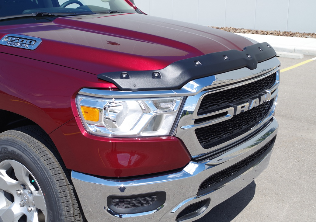 Dodge Ram Up Textured Tough Guard Hood Protector Tg R C on Dodge Ram 1500 Hoods